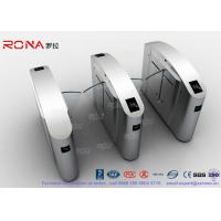 China Flap Barrier Gate Half High Turnstile Security Systems Swing Gate Flap Barrier wholesale