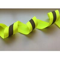 Quality 3m Clear reflective tape for clothing Custom heat transfer printed reflective tape for garment for sale