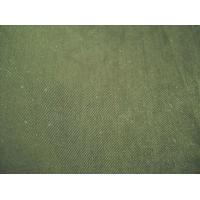 China 100% Cotton twill fabric with carbon peach and washing wholesale