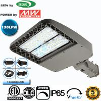 China ETL DLC CE Listed LED Area Light 60W 130Lm/W Efficiency Street Lighting Fixtures wholesale