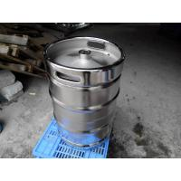 Quality Large Stainless Steel Beer Keg Electro Polishing 15.5 Gallon Keg SGS FDA Certificated for sale