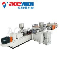 China 380V 50HZ 3Phase Foam Plate Making Machine PVC Foam Board Production Line wholesale