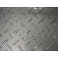 China AISI, ASTM, JIS 304 2B / No.1 Stainless Steel Chequered Plate / Floor Plate / Tear Plate Pressed Type For Bridges wholesale