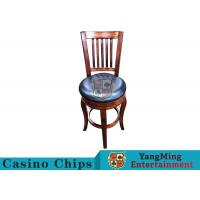 China American Style Retro Dining Chairs / Gaming Desk Chair For Poker Card Games wholesale