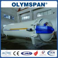 China Chemical Laminated Glass Autoclave Aerated Concrete / Autoclave Machine Φ2m wholesale