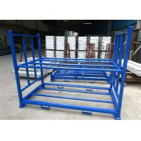 China Multi Tier Blue Color Industrial Storage Rack , Tyre Racking System Q235B Cold Steel Material wholesale