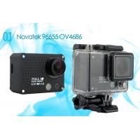 China Outdoor Wifi Helmet Racing 1080P Action Camera for Extreme Sports / Driving / Ride Shooting wholesale
