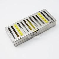China Dental Sterilization Cassette Rack Tray for 5 Dental Surgical Instruments wholesale