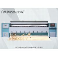 China High Speed Solvent Sticker Banner Printing Equipment Flatbed Large Format Challenger 3276E wholesale