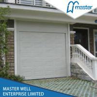China Master Well manufacturers automatic sectional overhead glass garage low prices doors wholesale