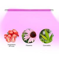 China 4 Feet IP65 LED Tube Grow Lights Aluminu PC With Water Joint , 120° Angle wholesale