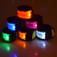 Quality Hotsale Christmas Gifts Reflective Led Armband Flash Armstrap for party and for sale