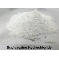China Local Anesthetic Bupivacaine Hydrochloride Powder , Levobupivacaine Hydrochloride Powder CAS 14252-80-3 wholesale