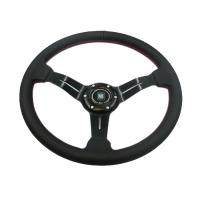 China Flexible Race Car Steering Wheel / Removable Steering Wheel With Non - Slip Rubber wholesale