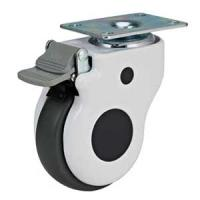 Buy cheap swivel plate hospital bed caster from wholesalers