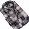 China cvc80/20  print flannel men's  new design business shirts wholesale