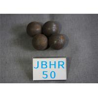 China B2 D 50mm Grinding Media Steel Balls for Cement Plants / Power Plant 62 - 63hrc wholesale