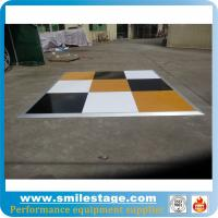 Buy cheap Interlocking movable portable folding dance flooring product