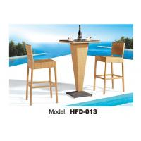 China 2015 Best Sale Fancy Outdoor Furniture Rattan Bar Tables And Chairs Used wholesale