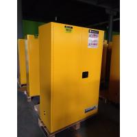 China Yellow Flammable Safety Cainets , Industry Flame Proof Storage Cabinets 45 gallon170Litre wholesale
