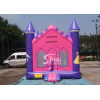 China 13x13 outdoor kids party PrincessInflatable Bounce House with 18 OZ PVC Tarpaulin wholesale