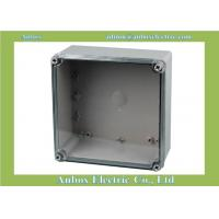 China Ip66 Electrical 200*200*95mm Clear Plastic Enclosure Box wholesale