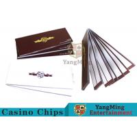 China Smart Baccarat Gambling Systems Special Recording Paper Showing The Result wholesale