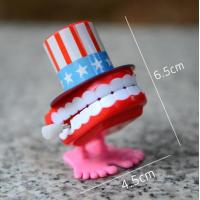 Buy cheap Wind Up Chattering Jumping Teeth(for Christmas gift for kids)Jumping Teeth , Funny Teeth from wholesalers
