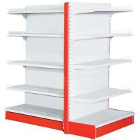 China Four Levels Supermarket Display Racks 120 - 150kg / Layer Loading Capacity on sale