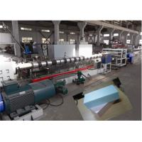 China Double Stage XPS Foam Board Production Line Temperature Control System wholesale