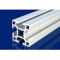 China 4mm T Slot Aluminum Extrusion Profiles Silver For Installment Window , Door on sale
