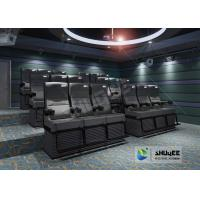 Quality Electric 4D Cinema Seats For Commercial Theater With Several Special Effect And 4D System for sale
