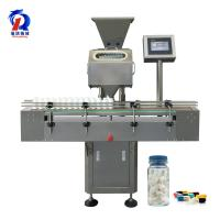 Buy cheap 8 Channel Counting Machine Automatic Bottle Washing Filling Capping Machine Line from wholesalers