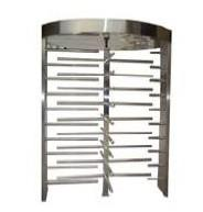 Quality Entrance & exit management full height turnstile with automate reset function for sale