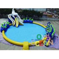 China Outdoor Commercial Inflatable Water Park Round For Kids Durable Security wholesale