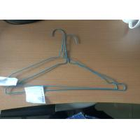 China Household Plastic Coated Wire Coat Hangers Smooth Surface Laundry Clothes Hanger wholesale