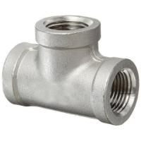 China Forged Alloy Pipe Fittings SS Elbow Reducer Tee Cap Round Head Code DN15 - DN2400 on sale