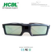China Light Weight TV 3D Active Shutter Glasses For Sign Acceptable By Bluetooth for sale