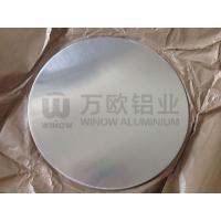 Quality 3003 3004 Aluminium Round Metal Plate Durable With Smooth Surface for sale