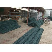 China 1.8mm - 5.0mm Green PVC Coated Wire Fencing 2.5m Height For Playground wholesale