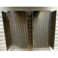 China Custom Metal Stamping Parts Silver Anodize Aluminum Driver Box With Polishing surface wholesale