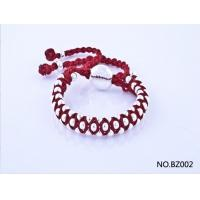 China Hot Selling Handmade Bracelet in Red Colour BZ002 wholesale