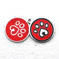 China Personalized Dog Tags Custom Promotional Gifts Laser Engraved Metal Aluminium Blank Round wholesale