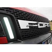 China LED Ford Ranger T6 Front Grill 4x4 Exterior Accessories Matte Black wholesale