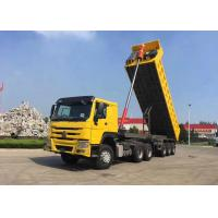China SINOTRUK 3 Axle Dump Trailer , Heavy Duty Tipper Trailer With FUWA Brand Axle wholesale