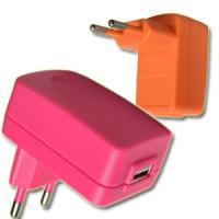 China 12W Colorful USB Nimh Battery Charger 200MA - 2.1A , Wall Mount Type wholesale