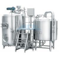 China 10 Bbl Brewhouse 1000L Beer Brew Kettle with Fermenter wholesale