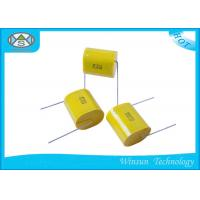 China Axial Polypropylene Metallized Polyester Film Capacitor CBB20T With High Capacitance on sale