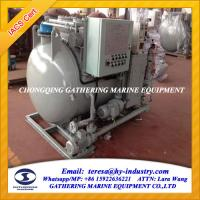 China IMO MEPC.277(64) Latest Standard Marine Sewage Treatment Plant on sale