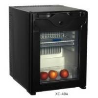 China Silver / Black Small Freezer , Hotel Mini Bars 40L With Solid Door wholesale
